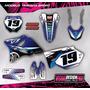 Kit Calcos - Gráfica Yamaha Yz 125/250 2t- 2003/13 Gruesos!!