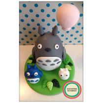 Totoro Adorno De Torta
