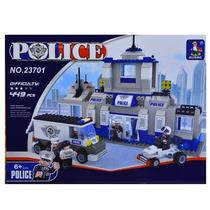 Delegacia De Policia 449 Peças Blocos De Montar = Lego