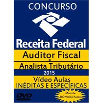 Concurso Receita Federal Combo 1ª E 2ª Fase - Video Aulas