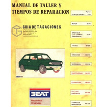 Libro Digital De Taller Fiat 147 1980-1984