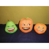 Lote 3 Peluches Naranja Molesta Hablan 10 11 Y 12 Cms