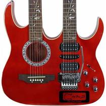Guitarra Violão Double Neck Art Pro - Saldo