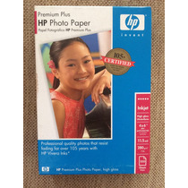 Papel Fotográfico Hp Premiun Plus 4x6 Venta Detallada