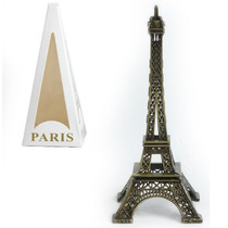 Torre Eiffel Miniatura Réplica Paris 13 Cm + Frete Gratis