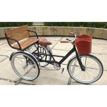 Triciclo Vintage Big Black Rin Rin Biclas