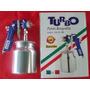 Pistola De Pintar Aerografica Turbo Pro Italiana