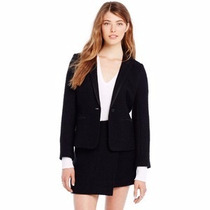 Armani Exchange Saco + Falda Talla 8 Color Negro