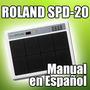 Roland Spd-20 - Manual En Español