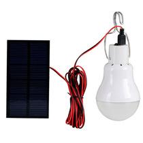 Lampara Solar Led Campamento 15 Leds Foco Panel Y Batería