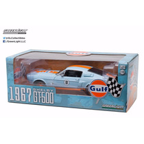 Gulf, Greenlight 1/18, Mustang Shelby Gt 500 1967