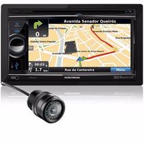Central Multimidia Dvd Bluetooth 2din + Camera De Re
