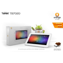 Tablet Orange Tb7020 Tela Led 7 Processador 1.2ghz 1g Ram