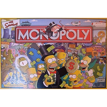 Monopolio The Simpsons Juego Original Hasbro Buenisimo