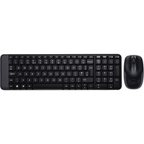 Teclado E Mouse Sem Fio Wireless Combo Mk220 Logitech Nfe