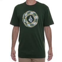 Camiseta Masculina Volcom Beaded