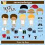 Kit Imprimible Rock Stars Imagenes Clipart Cod 9