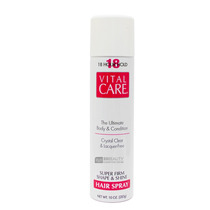 Vital Care Hair Spray 18 Hours Hold 283g
