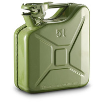 Jerry Can Tanque Gasolina Jeep Verde 5 Litros Win