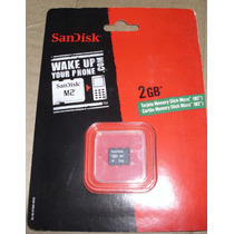 Memory Stick Micro (m2) 2gb Sandisk Original
