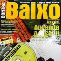 Metodo Prático Contrabaixo 4 C Revista + Dvd Frete Grátis