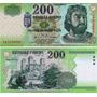 Billete De Hungria Año 2004 200 Forint Sin Circular