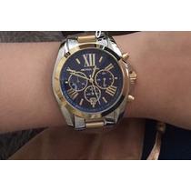 Relógio Feminino Michael Kors Mk5976 Dourado Prata Original
