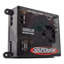 Mod Amplif/soundigita Sd250.2 250wrms P/ Corneteira Selenium
