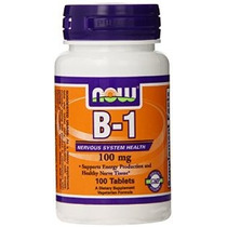 Now Foods Vitamina B-1 (tiamina) 100mg 100 Comprimidos