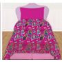 Sábanas Infantil Monster High - Original Piñata