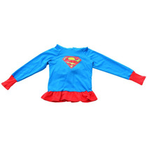 Sudadera Supergirl De Dc Super Hero Girls Talla8 Envío Grati