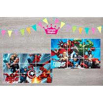 Rompecabezas Personalizados Souvenirs Cumpleaños 10x15cm 10u