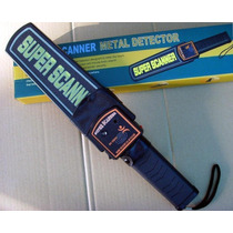 Detector De Metales Manual Con Forro Super Scanner
