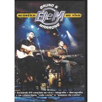 Dvd Bruno E Marrone Acústico Ao Vivo Uberlândia 2001