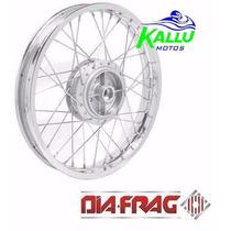 Roda Dianteira Completa Pra Ybr 125/factor F. Tambor