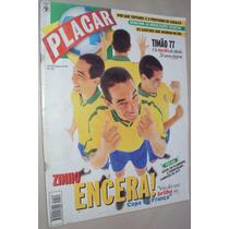 Revista Placar 1132 1997 Poster Corinthians Campeão Sp 1977