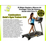 Caminadora Golds Gym Modelo 410