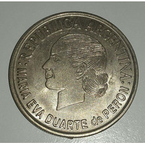 Argentina Moneda Conmemorativa 2 Pesos Evita 2002 *054