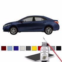 Tapa Risco Retoque Automotivo Azul Cosmico Metálico - Toyota