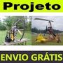 Kit Projeto Paraglider + Projeto Girocóptero + Envio Grátis