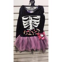 Disfraz De Monster High Skelita Calaveras Nuevo Carnavalito
