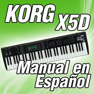 korg x5d manual en espa ol 226 paginas 50 00 en mercado libre rh articulo mercadolibre com ar korg x5d manuel korg x5d manuel