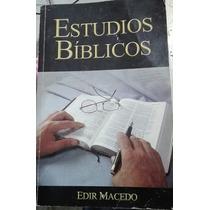 Libro Estudios Biblicos Edir Macedo En Buen Estado