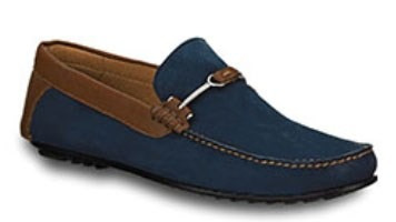 Zapatos azules casual