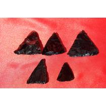 Puntas Flecha Obsidiana Negra 1489