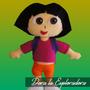 Dora La Exploradora Peluche, Muñeco, Figura En Fieltro