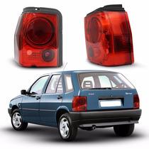 Par Lanterna Traseira Red Fiat Tipo 93 94 95 96 97 Tuning