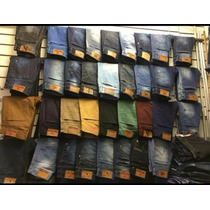 Kit 10 Calça Jeans Masculina Com Lycra Varias Marcas Oferta