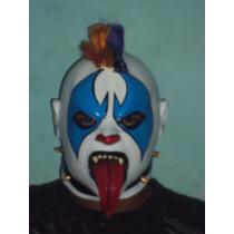 Wwe Cmll Aaa Mascara De Luchador Psycho Clown P/adulto Vinil
