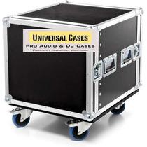 Flight Case Rack 12u Prof. Util 55cm Com Rodas